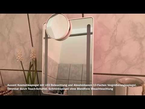 Kosmetikspiegel mit LED Beleuchtung - Schminkspiegel