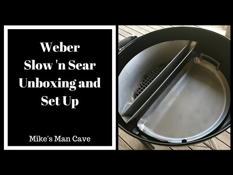 Weber Kettle – Slow 'n Sear Unboxing