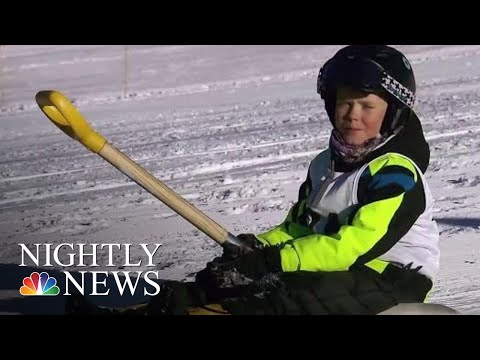 The New Winter Sport You Can Do At Home | NBC Nightly News