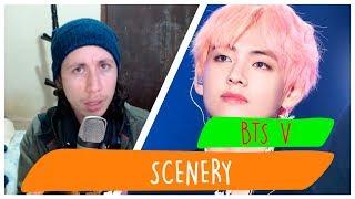 bts v scenery mv reaction - TH-Clip