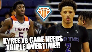 KYREE vs CADE TRIPLE OVERTIME BATTLE!! | Two of Nike & Adidas' BEST TEAMS Face-Off in Vegas