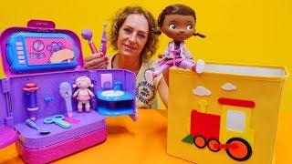Spielspaß Mit Doc McStuffins - Die Wunderbox - Wo Sind Denn Die Instrumente Der Spielzeugärztin?