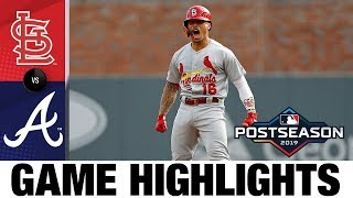 Cardinals ride 10-run 1st inning, Jack Flaherty to NLCS | Cardinals-Braves MLB Highlights