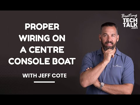 Wiring Tips For A Centre Console Boat