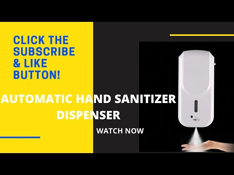 Hh1007 Automatic Wall Hanging Soap Dispenser