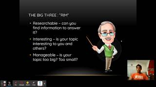 PS Tutoring (English): How To Write a Researchable Question