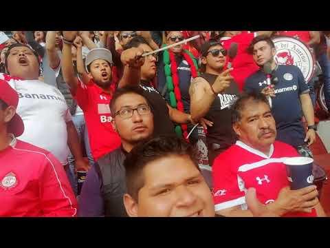 """La Perra Brava del Barrio Toluca 🆚 Potros"" Barra: La Perra Brava • Club: Toluca"