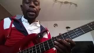 LOUANGE FANDA NA YO Guitare Basse