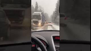 Razmere na cesti proti Mislinji