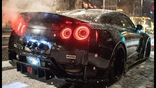 NISSAN GTR BIG TURBO & EXHAUST SOUND