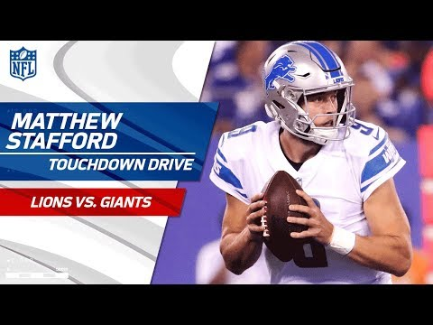Matthew Stafford Does It All on Opening TD Drive! | Lions vs. Giants | NFL Wk 2 Highlights