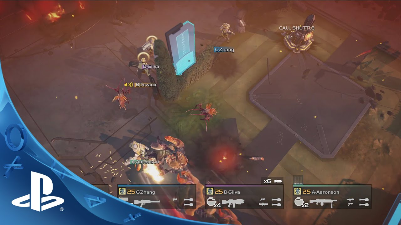 Helldivers Launches Today for PS4, PS3, PS Vita