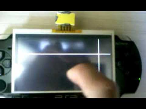 Modder Adds Working Touchscreen to PSP