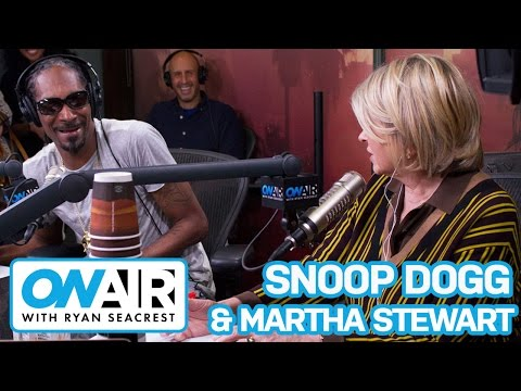 Snoop Dogg Amp Martha Stewart Put Friendship To The Test On Air With Ryan Seacrest