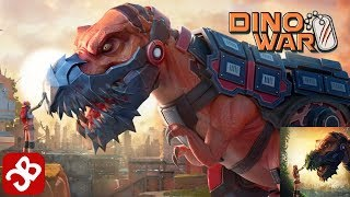 Dino War: Survival (By KingsGroup Holdings) - iOS/Android - Gameplay Trailer