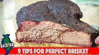 9 Tips for Smoking the Perfect Beef Brisket