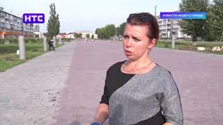 На Бульваре Победы приступили к замене бюстов земляков-героев Великой Отечественной войны