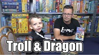 Troll & Dragon (Loki) - ab 7 Jahre - schon wieder ein cooles Würfelspiel (ideal auf Reisen)