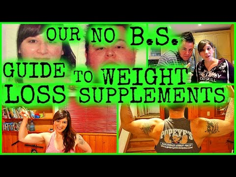 OUR COMPLETE NO B.S. GUIDE TO WEIGHT LOSS SUPPLEMENTS!!!