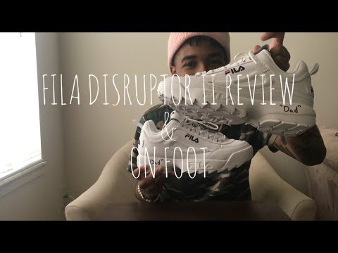 Fila Disruptor II Review & On Foot