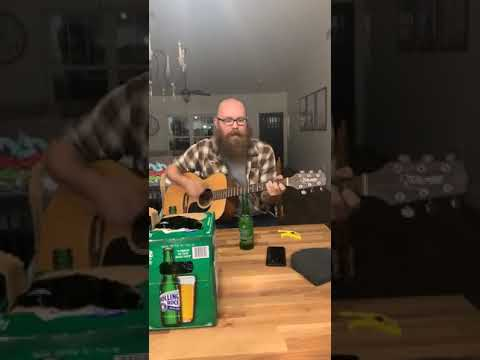 Man plays beautiful percussion to a Lumineers song