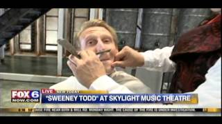 "Andrew Varela and Robert Goderich perform ""The Contest"" from ""Sweeney Todd"" on Fox 6 Wake Up"