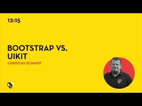 JD19DE - Bootstrap vs. UIKit