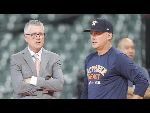 A.J. Hinch, Jeff Luhnow suspended by MLB, fired by Astros