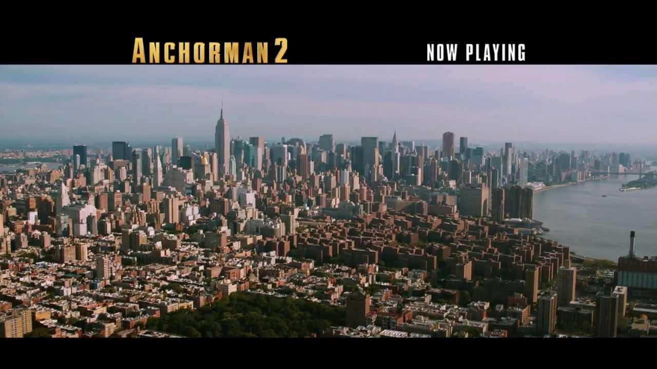 Trailer för Anchorman 2