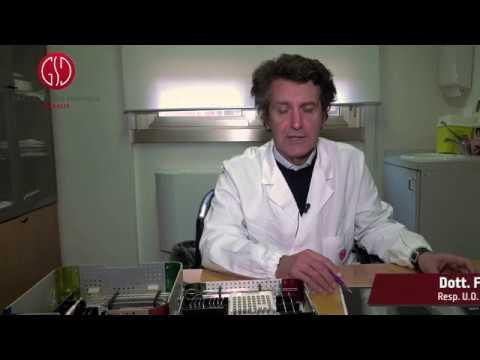 Ginocchio esercizio Evdokimenko e il video spalla