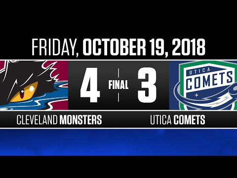 Monsters vs. Comets | Oct. 19, 2018
