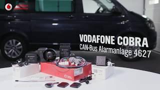 VW T6 Alarmanlage Vodafone Automotive - Sicherheitskonzept VW T6 Diebstahlschutz Cobra 4625