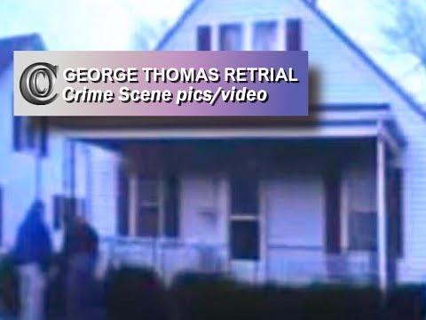 GEORGE THOMAS RETRIAL - 👣 Channon & Chris Crime Scene Images/video (2013)