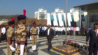 Celebration of 69th Republic Day (26 January 2018) @ NISM Campus
