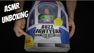 ASMR - Toy Story Buzz Lightyear Action-Figur Unboxing (German/Deutsch)