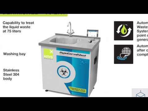 Biomedical Liquid Waste Treatment System