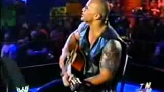 The Rock Sh!ts All Over Sacramento (The Rock Concert) RAW 2003