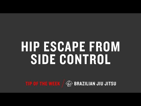 Hip Escape From Side Control