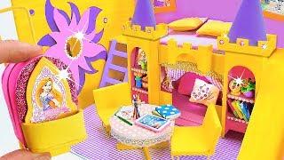 DIYMiniatureDollhouseRoom~RapunzelRoomDecor,Backpack