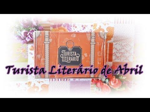 Unboxing Turista Literário de Abril (2018) | Um Livro e Só