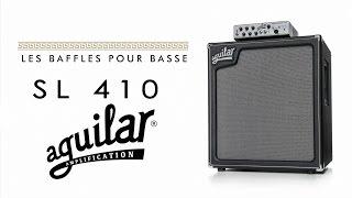 Aguilar SL 410 - 4 ohms - Video