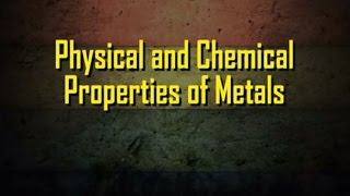 CH06-METALS AND NON-METALS-PART03-Chemical properties of metals