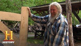 Mountain Men: Eustace and Joseph Handcraft a Rustic Bed (Season 7, Episode 15) | History