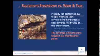 Equipment Breakdown Insurance