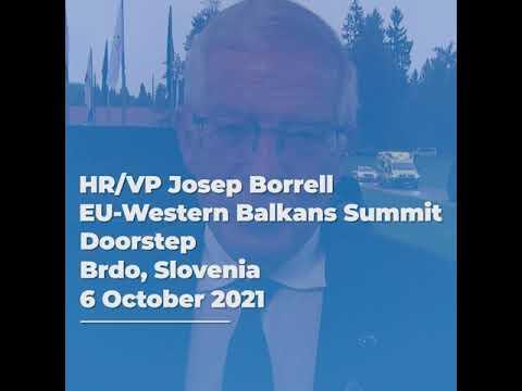 EU-Western Balkans Summit - 6 October 2021
