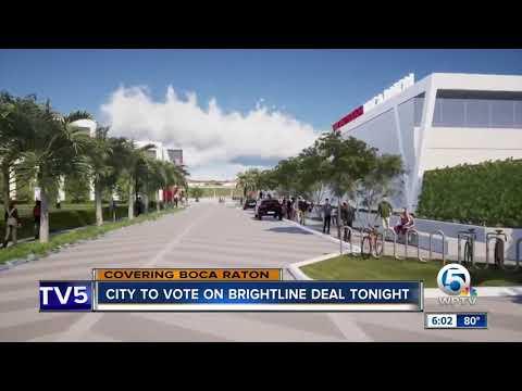 City to vote on Brightline deal