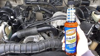 "Do fuel system cleaners actually work? Testing Gumout ""All-in-One"""
