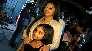 Drashti Dhami Spends Time With Fans On Set | #TellyTopUp