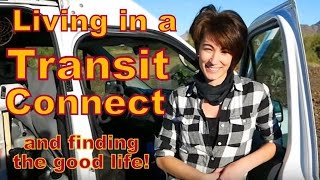 Living in a Transit Connect--and Loving it!!!