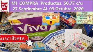 🚨 Walgreens Mi Compra Productos a $0.77 c/u  👉9/27/20 al 10/3/20